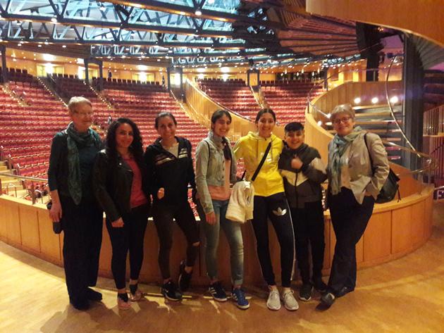 Besuch in der Philharmonie